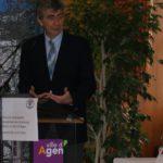 Discours d'accueil par M le Maire d'Agen