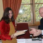 Remise du Prix d'Honneur de l'Académie