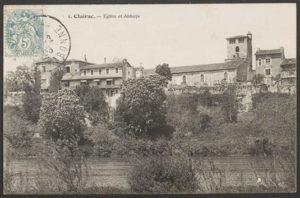 Abbaye de Clairac (source AD47)